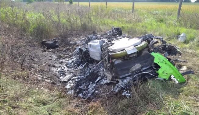 Lamborghini Huracán accidente a 320 km/h