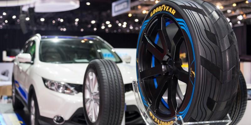 Goodyear crea un neumático inteligente