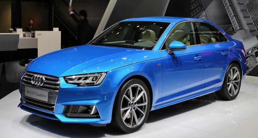 La marca más vendida de coches fue Audi 1920