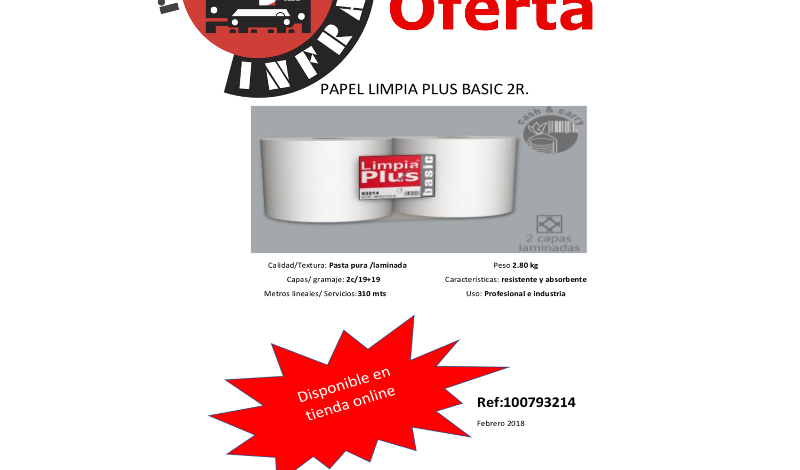 recambios-infra-PAPEL-LIMPIA-PLUS