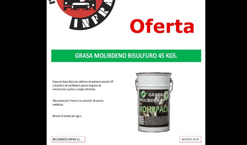 recambios-infra-DIMASOIL GRASA MOLIBDENO 45 KGS