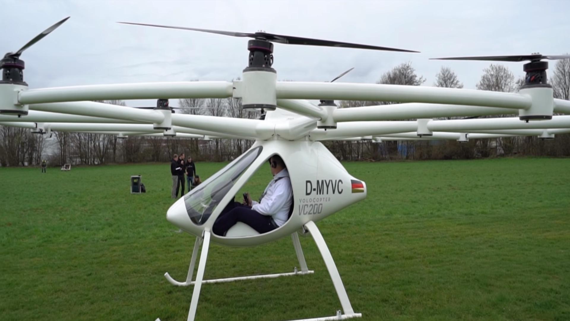 En 2022 llegará el coche volador 1920