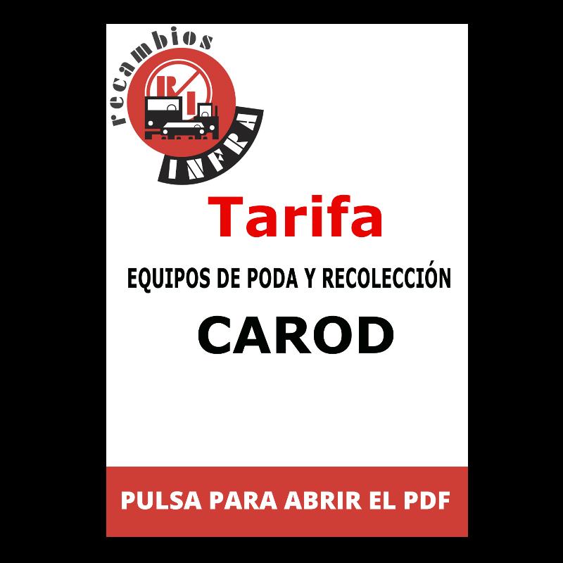 recambios-infra-CARAD-TARIFA-EQUIPOS-PODA-Y-RECOLECCION
