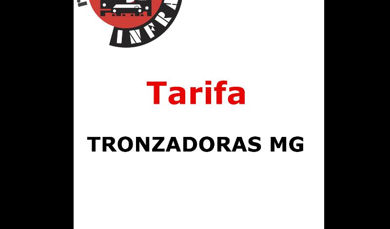 recambios infra TRONZADORAS MG