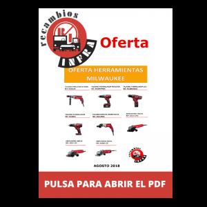 recambios-infra-herramientas-MILWAUKEE TALADROS Y AMOLADORAS
