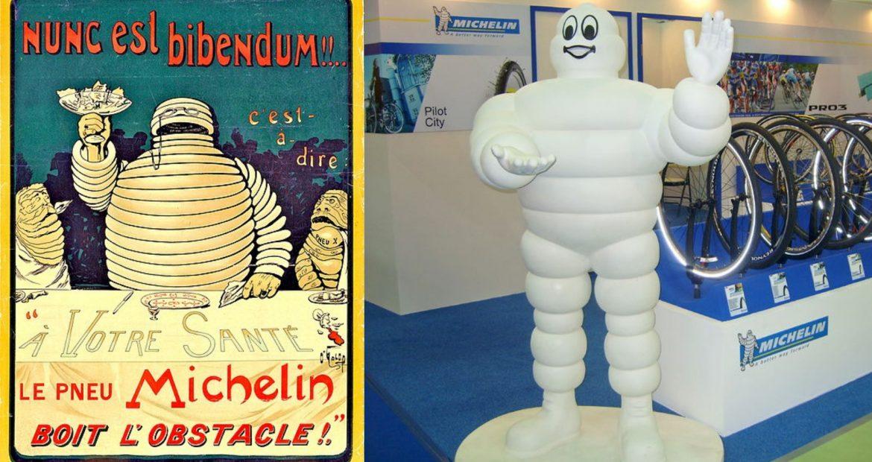 Conoces la historia del muñeco de Michelin1920