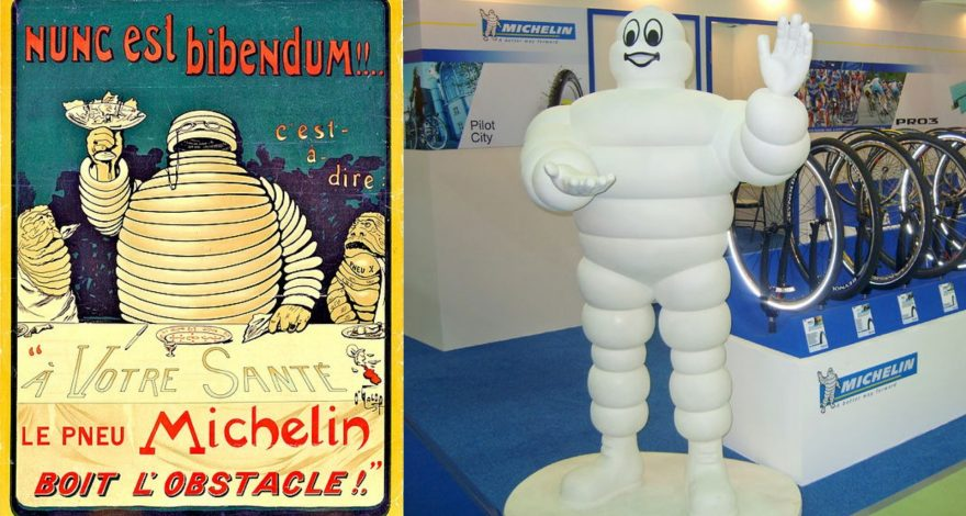 Conoces la historia del muñeco de Michelin1920