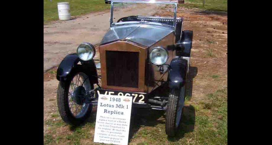 Lotus busca el primer coche que fabricaron1920