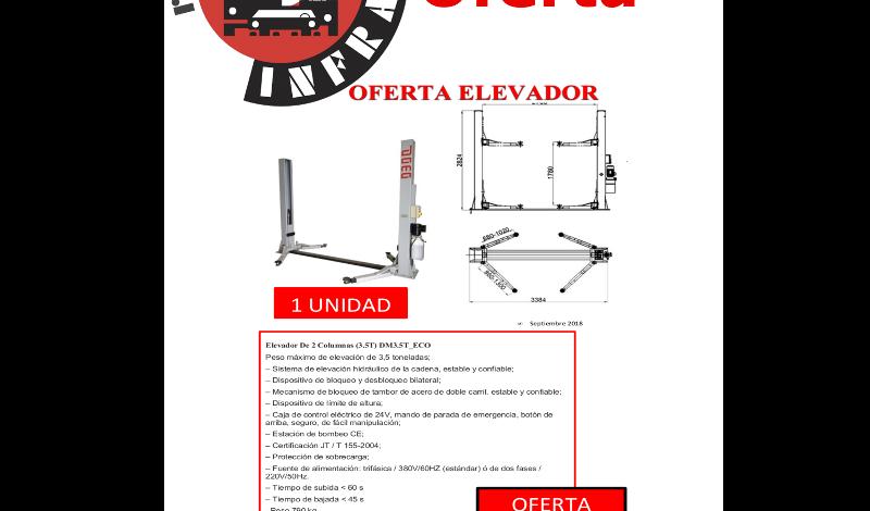 recambios-infra-ELEVADOR-2-COLUMNAS-3.5-TONELADAS