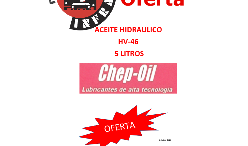 recambios-infra-CHEP-OIL-ACEITE-HIDRAULICO