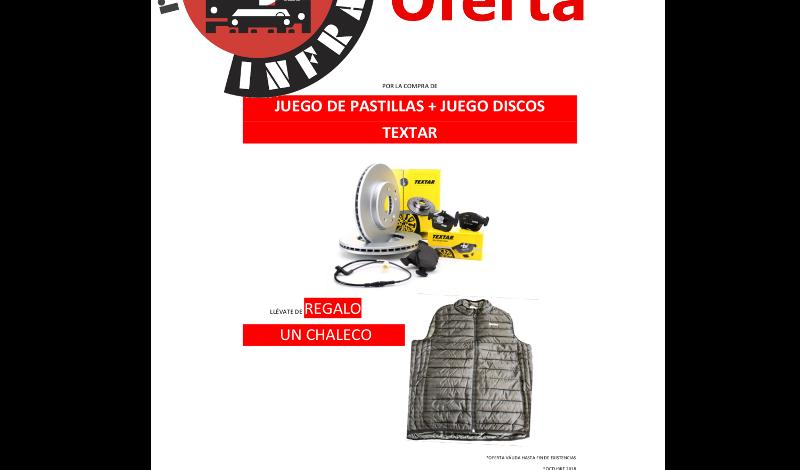 recambios-infra-TEXTAR-REGALO-CHALECO