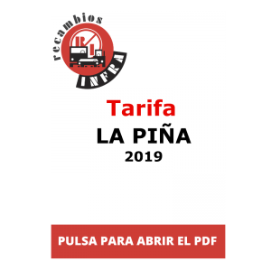 recambios-infra-TARIFA-LA PIÑA-2019