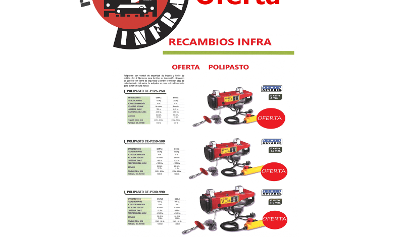 recambios-infra-CEVIK-POLIPASTOS