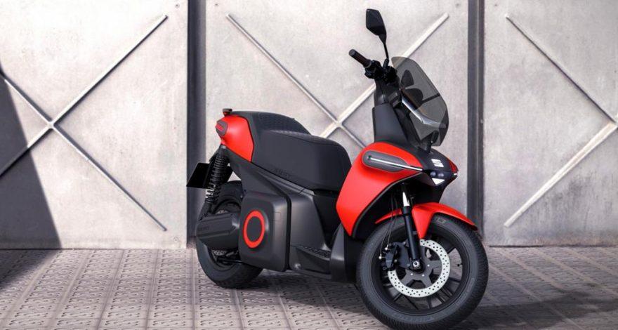 Seat y su moto electrica1920