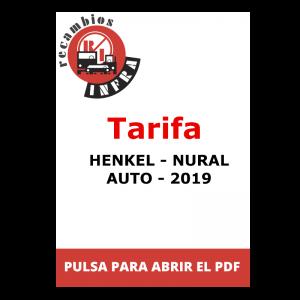 recambios-infra-Henkel-NURAL-TARIFA-AUTO 2019