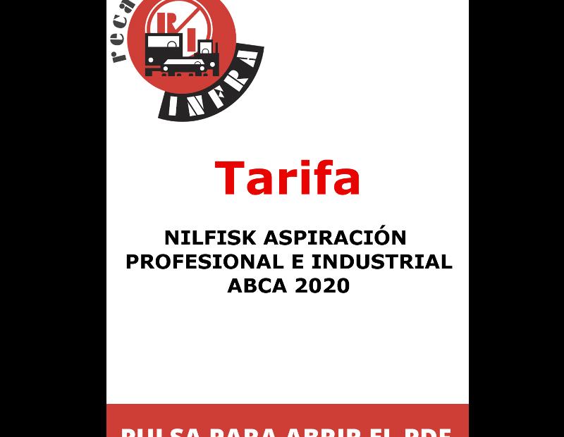 recambios-infra-NILFISK ASPIRACION_PROFESIONAL E INDUSTRIAL ABCA 2020