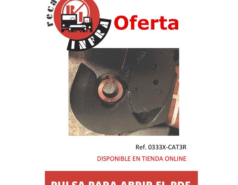 recambios-infra-ENGANCHE-CAT-3 0333X-CAT3R