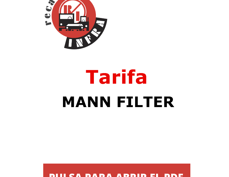 recambios-infra-MANN-FILTER-TARIFA 15_06_2020