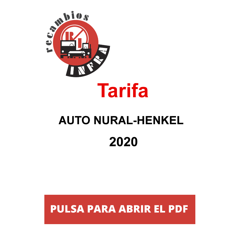 recambios_infra_TARIFA AUTO NURAL-HENKEL 2020