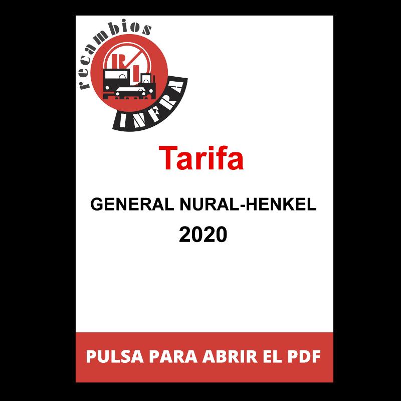 recambios_infra_TARIFA GENERAL NURAL-HENKEL 2020