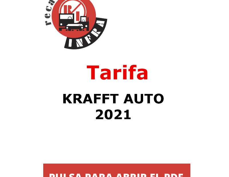 recambios-infra-KRAFFT-AUTO-2021-TARIFA-PVP